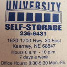 Downing Co, University Self Storage, Apartments & Housing Rental, Storage Facility, Self Storage, Kearney, Nebraska