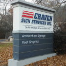 Craven Sign Services, Inc., Sign Manufacturers, Signs, Custom Signs, High Point, North Carolina