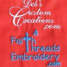 Deb's Custom Creations, Clothing Accessories, embroidered jewelry, Custom Embroidery, Downingtown, Pennsylvania