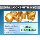 Dial Locksmith, Security Systems, Lock Repairs, Locksmiths, New York, New York