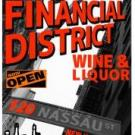 Financial District Wine and Liquor, Liquor Store, Restaurants and Food, New York City, New York