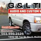 G & L Tires Audio & Custom Works LLC, Auto Repair, Car Audio, Tires, Redmond, Oregon