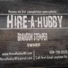 Hire-A-Hubby, waste removal, Movers, Home Repair and Service, Holmen, Wisconsin