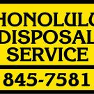 Honolulu Disposal Service Inc, waste removal, Waste Management, Recycling Centers, Honolulu, Hawaii