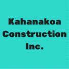 Kahanakoa Construction Inc., Septic Systems, Grading Contractors, Excavation Contractors, Holualoa, Hawaii