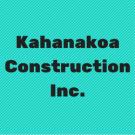 Kahanakoa Construction Inc., Excavation Contractors, Services, Holualoa, Hawaii