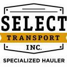 Select Transport Inc., Transportation Services, Services, Valley Park, Missouri