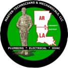 Master-Technicians and Mechanicals, LLC, Plumbing, Air Conditioning Contractors, HVAC Services, Crossett, Arkansas