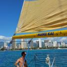 Snorkel Manu Kai Catamaran, Boat & Ferry Transportation, Tourist Information & Attractions, Snorkeling, Honolulu, Hawaii