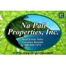 Na Pali Properties, Inc. , Property Management, Real Estate Listings, Vacation Rentals, Hanalei, Hawaii