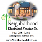 Neighborhood Electric, Small Electrical Repairs, Electric Companies, Electricians, Denver, Colorado