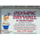 Olympic Drywall Co., General Contractors & Builders, Drywall, Drywall Contractors, Salisbury, North Carolina