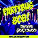 Party Bus 808, Transportation Services, Party Rentals, Party Bus Charters, Kapolei, Hawaii