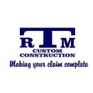 RTM Custom Construction, Roofing Contractors, Services, Waynesville, Ohio