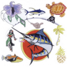BB Embroidery Ltd. , Artists, Graphic Designers, Custom Embroidery, Honolulu, Hawaii