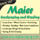 Maier Dick Landscaping & Hauling, Landscaping, Services, Fort Dodge, Iowa
