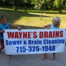 Wayne's Drains, Septic Systems, Sewer Cleaning, Drain Cleaning, Wisconsin Rapids, Wisconsin