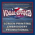 Visual Effects, Custom Printed T-Shirts, Custom Embroidery, Screen Printing, Orange Beach, Alabama