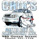 Chik's Auto Air, Automotive Repair, Auto Maintenance, Auto Air Conditioning, Honolulu, Hawaii