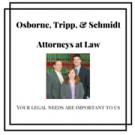 Osborne, Tripp & Schmidt, Personal Injury Attorneys, Family Law, Defense Attorneys, Sparta, Wisconsin