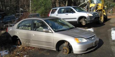 3 Questions to Ask Before Buying a Used Auto Part at a Salvage Yard, Barkhamsted, Connecticut