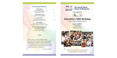 THE SUZUKI MUSIC SCHOOL OF MARYLAND CELEBRATES COLUMBIA'S 50TH BIRTHDAY!!!, Clarksville, Maryland