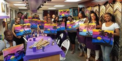 3 Reasons to Book a Social Painting Party for Your Next Girls' Night Out, Manhattan, New York