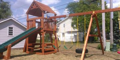 Swingset Adventures: 3 Activities to Build Gross Motor Skills, Deerfield, Ohio