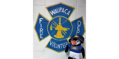 Customer Spotlight: Frosty visits the Firehouse!, Waupaca, Wisconsin