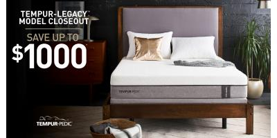 Save $1000 off TempurPedic Mattresses!, Minocqua, Wisconsin