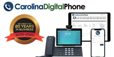 20 Years of Providing Cloud-Based Telecommunications Solutions and Local Customer Service, Greensboro, North Carolina
