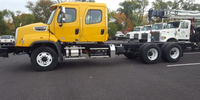 2016 Leftover Freightliner Crew Cab Tandems great for rail , Mount Olive, New Jersey