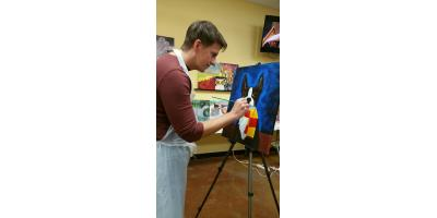 Paint Your Pet Fundraiser at Happy Hooves, ,