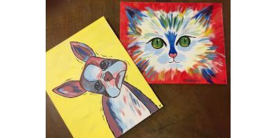 Paint your Pet Fund Raiser, Maryland Heights, Missouri