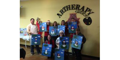 3 Reasons Why a Paint Party Makes a Perfect Holiday Party Activity, Maryland Heights, Missouri