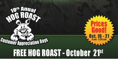 FREE! 10th Annual Hog Roast Don't miss out!, Carrollton, Kentucky