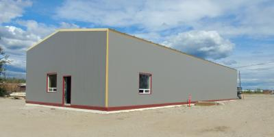 How to Take Care of Your Metal Building in the Winter, Fairbanks, Alaska