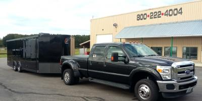 New 24' Blacked Out inTech V-Nose Trailer -- Just Rolled in!, Cuba, Missouri