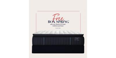 FREE Stearns & Foster Boxspring with Mattress Purchase!, Minocqua, Wisconsin