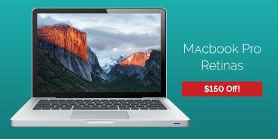 Great deal - $150 off Macbook Pros at Experimac!, 6, Louisiana