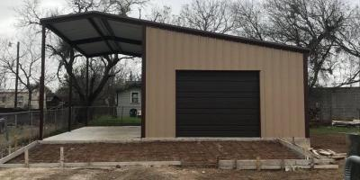 3 Creative Uses for Metal Sheds, Floresville, Texas