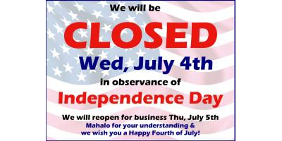 Happy 4th of July!, Honolulu, Hawaii
