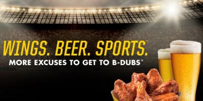 2 for $10 Blitz at BWW, North Haven, Connecticut
