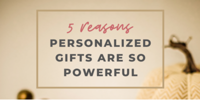 5 REASONS PERSONALIZED GIFTS ARE SO POWERFUL, Ferguson, Missouri