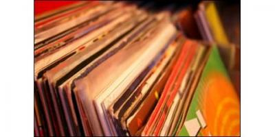 Browse the Collection of Classic Vinyl Albums at Academy Records Annex, Brooklyn, New York