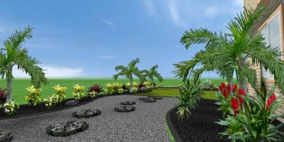 Lawntastic Hawaii's Landscapers Will Create a 3-D Model Based on Your Ideas at no Cost!, Ewa, Hawaii