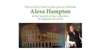 Mecox New York Celebrates Alexa Hampton's Newest Artistic Collection, North Sea, New York