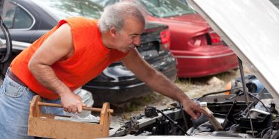4 Tips for Pulling Parts at a Salvage Yard, Union, Ohio