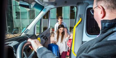 4 Options for Anchorage Airport Transportation , Anchorage, Alaska