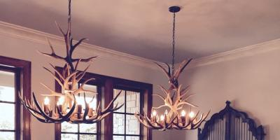 15% Off Antler Chandeliers, Ingram, Texas